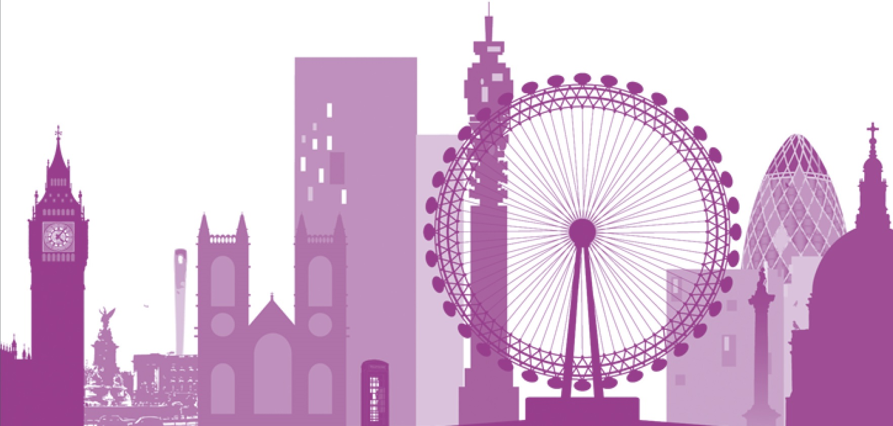 London skyline graphic
