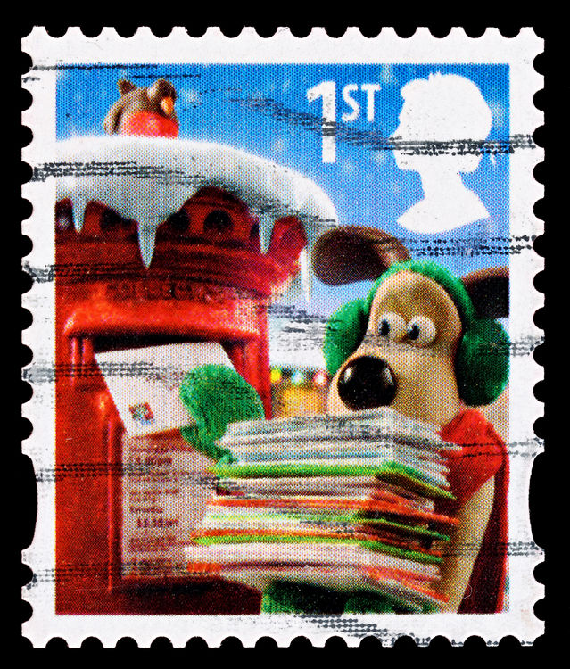 Postal countdown to Christmas 2016