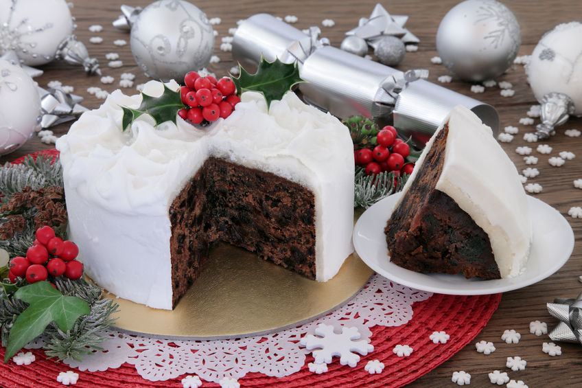 Making your own Christmas Cake
