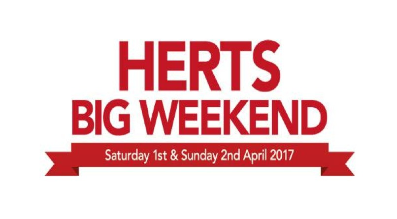 Have you entered the Herts Big Weekend ballot yet?