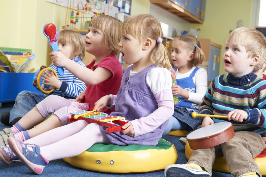 Music is a great fun for your little ones