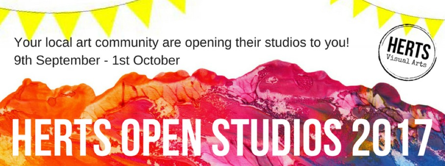 Herts open studios running September 9th – October 1st 2017