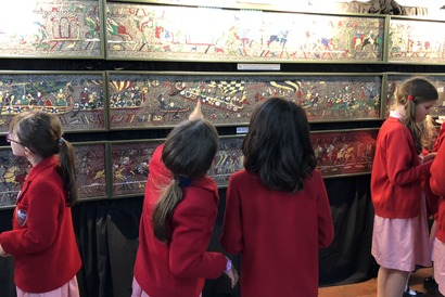 Bayeux Tapestry in St Albans