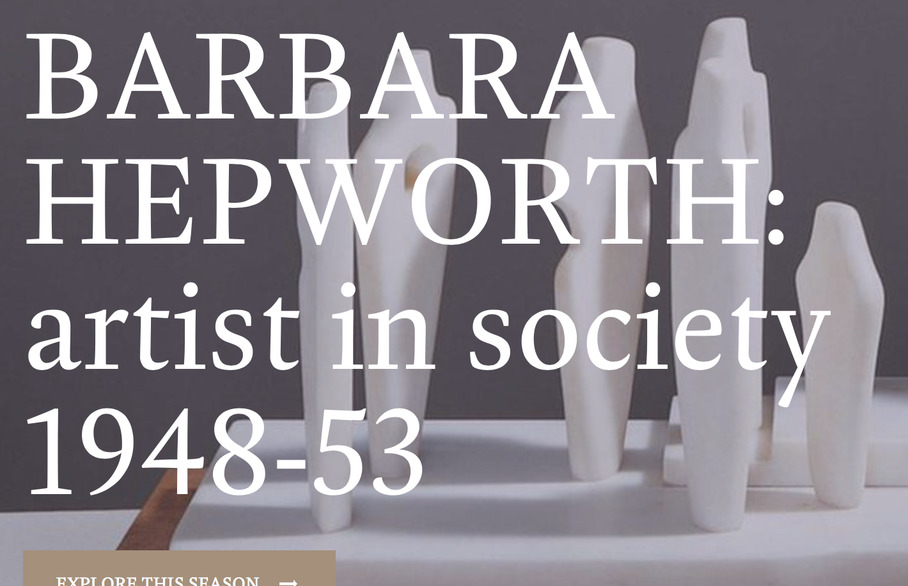 Don't miss Barbara Hepworth in St Albans