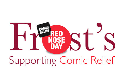 Frost's comic relief / red  nose day photo competition