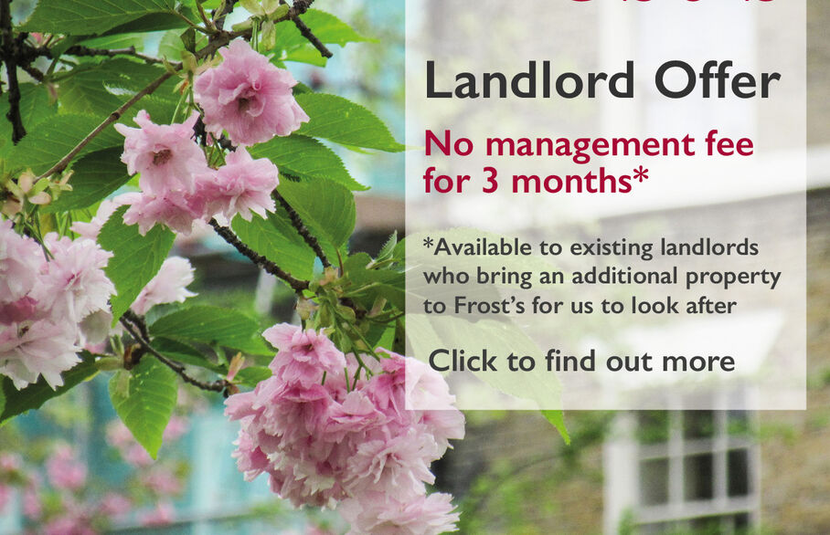 Existing landlords with additional properties?