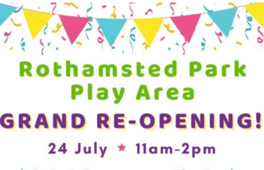 Rothamsted Park Play Area Grand Re-Opening