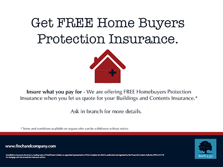 Free home buyers protection Insurance Large image