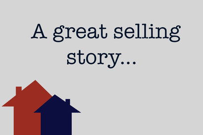 A great selling story...