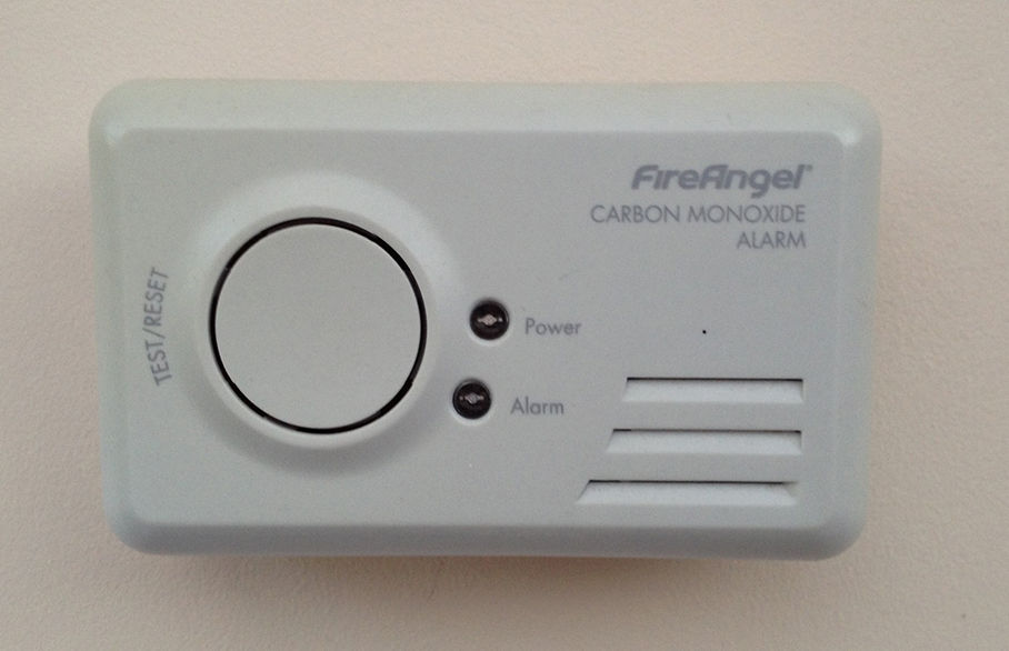 Don't forget your carbon monoxide alarm