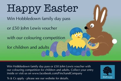 Finch & Co Easter 2016 Colouring Competition