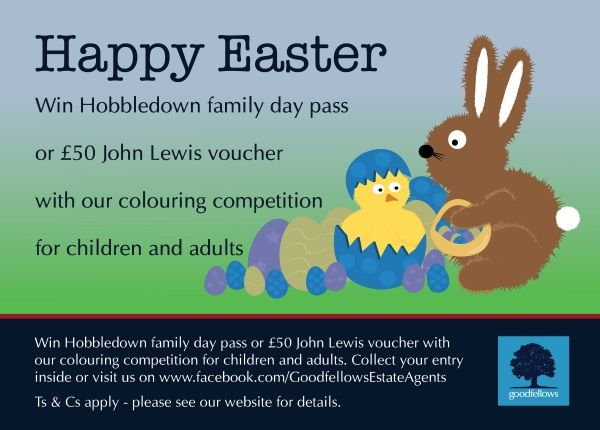 Goodfellows Easter 2016 Colouring Competition