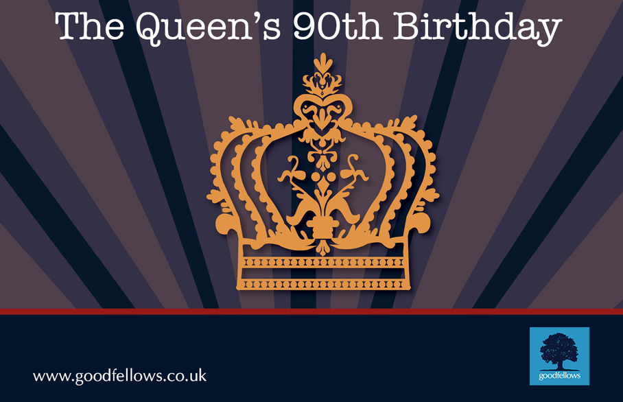 Happy 90th Birthday Her Majesty