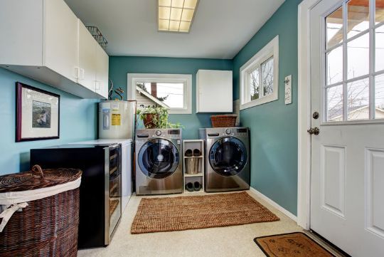 How to maximise the space in your utility room…