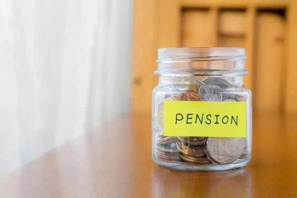 More value in property than pension