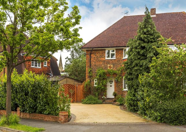 Live the English dream in Cheam Village…