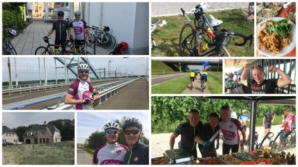 Three Cities Cycle Challenge – latest update from day 3