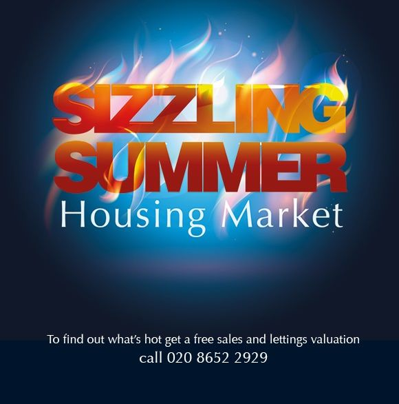 Sizzling summer housing market