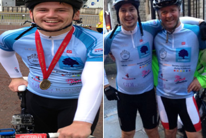 Goodfellows raise money for ride 100