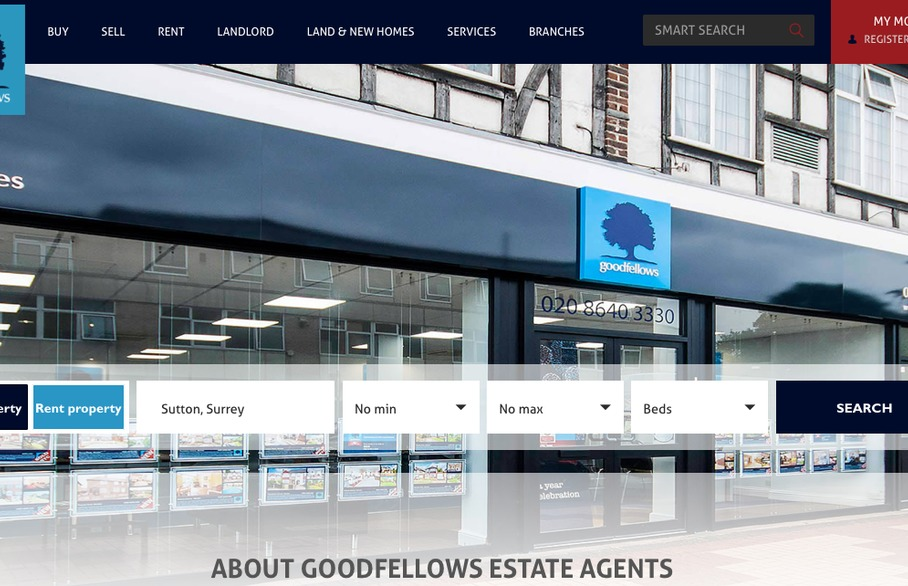 Goodfellows' new property website