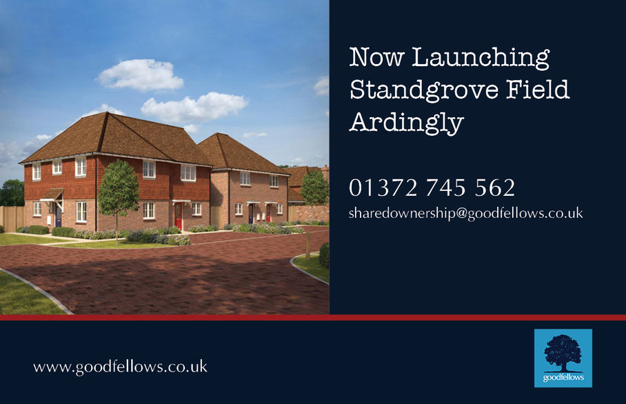 Three brand new 2 & 3 bedroom houses at Standgrove Field in Ardingly