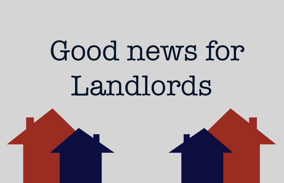 Good news for Landlords