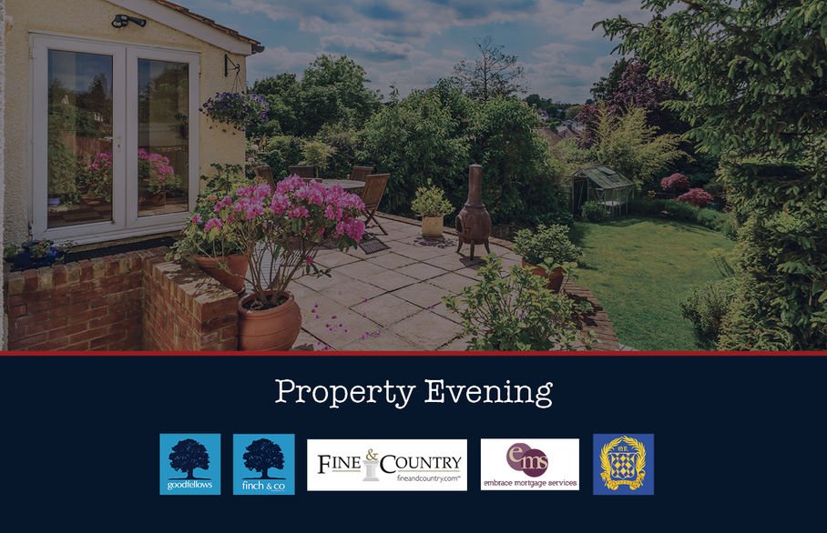 Pop down to our inaugural property evening