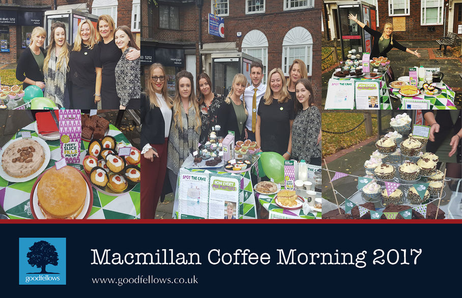 Cheam Village annual Macmillan coffee morning