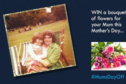 Win a bouquet of flowers this Mother's Day