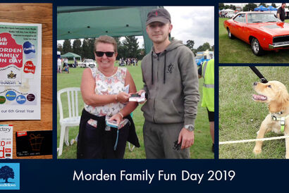 Supporting the Morden Family Fun Day