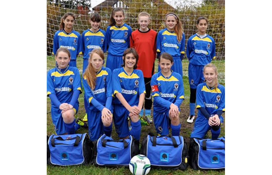 Goodfellows Sponsors the AFC Wimbledon U13 Girls Team