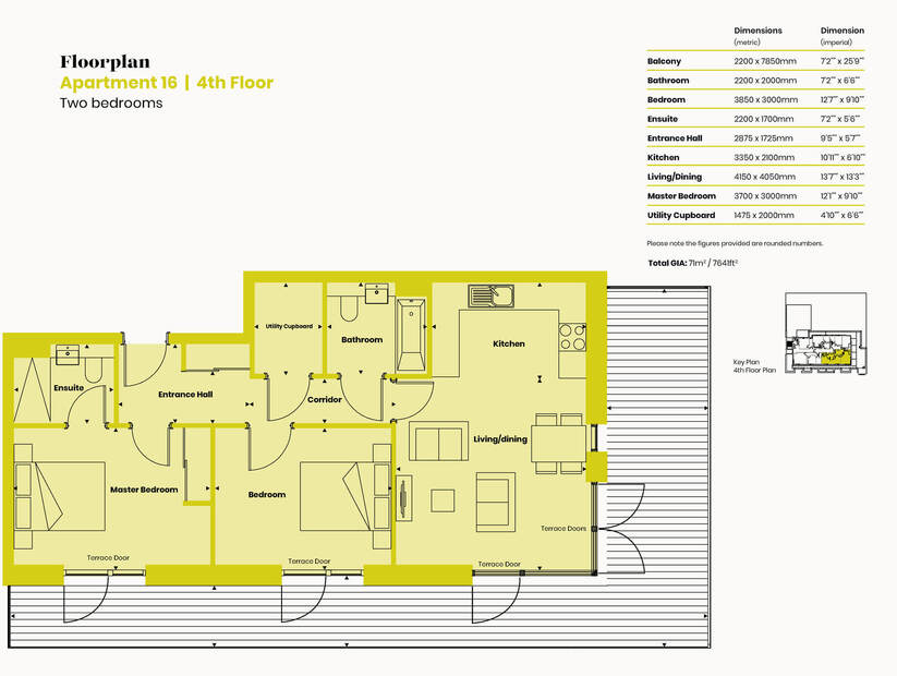 Floorplan Apartment 16