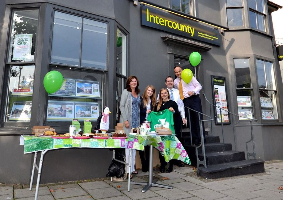 Intercounty Saffron Walden's Coffee Morning Raises £127.77 For Macmillan