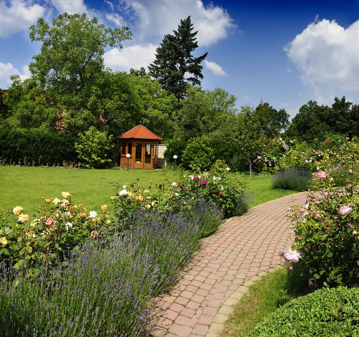 Find sanctuary in a garden retreat?