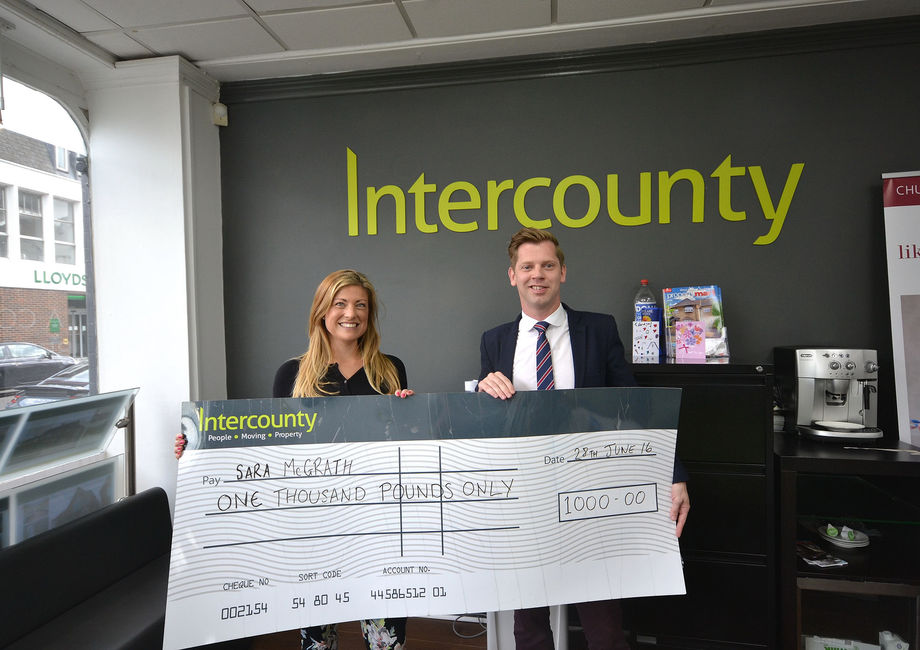 Winner of the Intercounty's new website launch