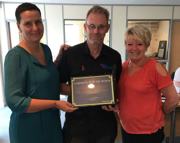 Intercounty's Contractor of the Month Award