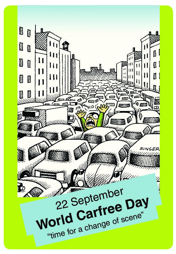Participate in this year's car free day