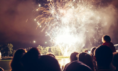 Firework events close to our branches