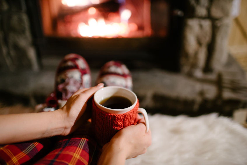 Cosy up in front of a fire this winter