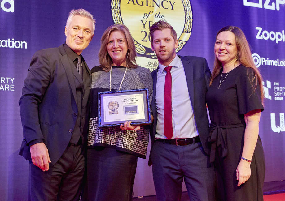 Intercounty a 'phenomenal agency' - receives Gold