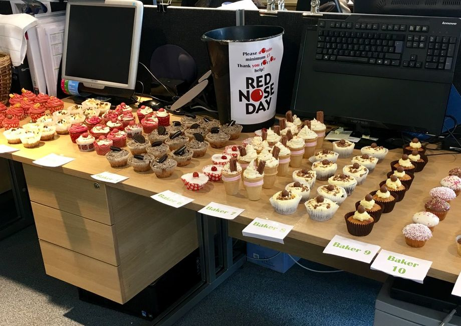 Intercounty bake off for Red Nose Day