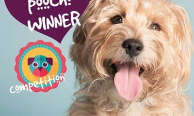 Winner of our 'Love your pooch?' competition