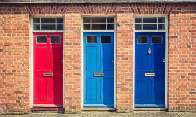 What does your door colour say about you?