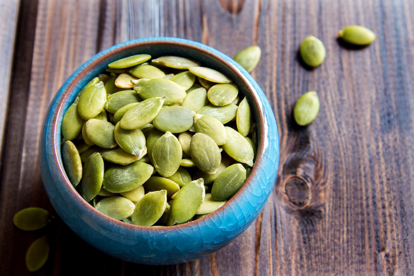 Pumpkin seeds - a healthy snack