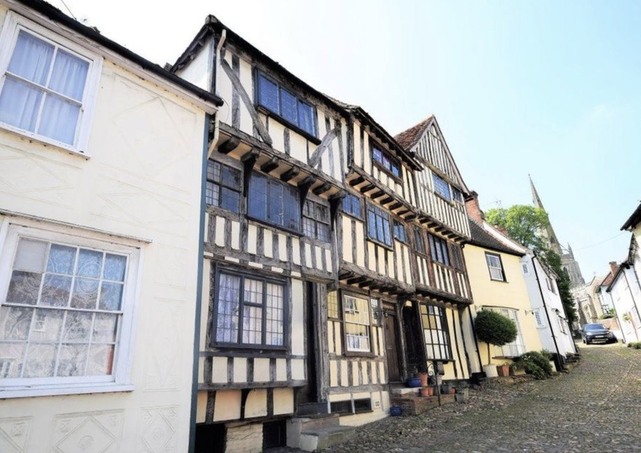 Experience living in a Grade I Tudor cottage with this unique rental in Thaxted