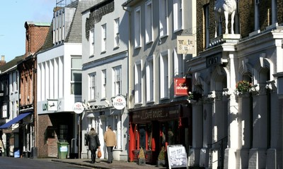 Buyers pay a premium to live in market towns