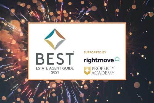 Intercounty Exceptional at Best Estate Agent Guide Awards