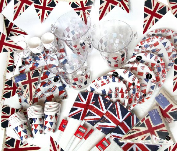 Win A Jubilee Set For Your Street Party