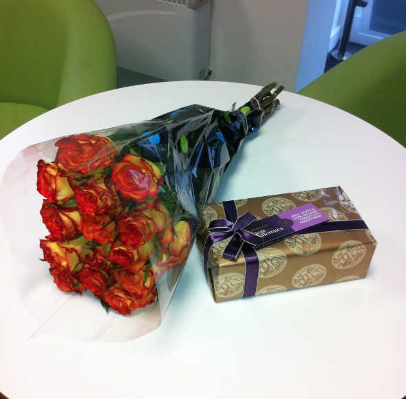 Braintree Receive Some Wonderful Thank You Gifts...