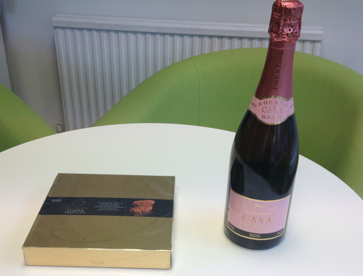 Intercount Receive Some Gifts From A Happy Customer...